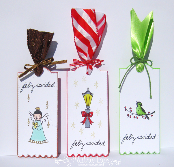 Color Paws - Tags de Navidad - Christmas tags - Ruthie Lopez 2