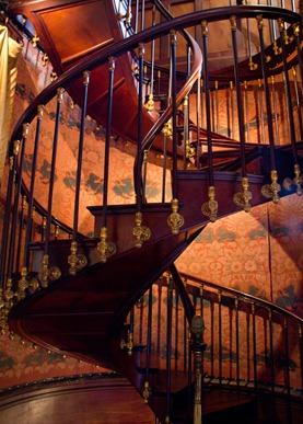 Montresormahogany-stair
