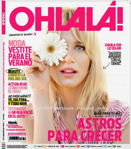 Liz solari y luciano castro en revista ohlala enero 2014 for Revistas del espectaculo