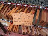 One of many prayer boards, at a shrine in Nikko