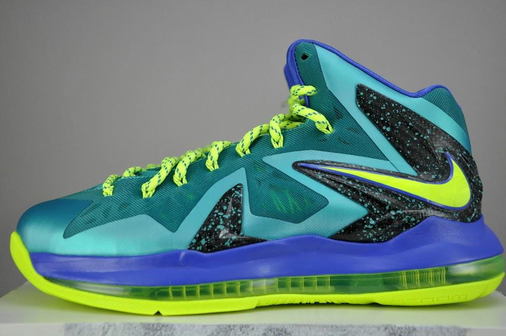 ... Nike LeBron X PS Elite Sport TurquoiseVoltViolet Force ...