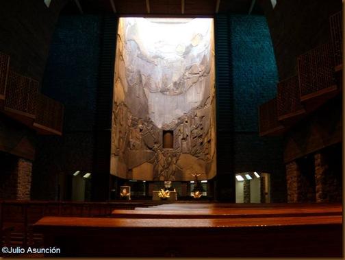 Santuario de Aranzazu - Interior