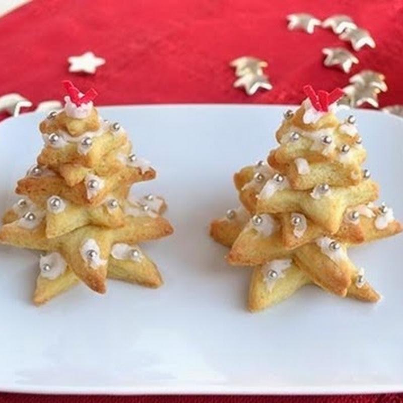 Χριστουγεννιάτικο δέντρο με  μπισκότα
