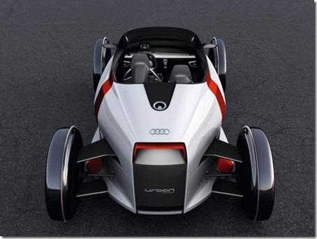 2011 Audi Urban Concept rear view