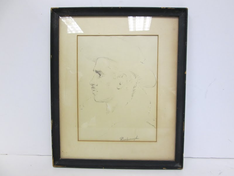 Vintage Sketch Of A Men