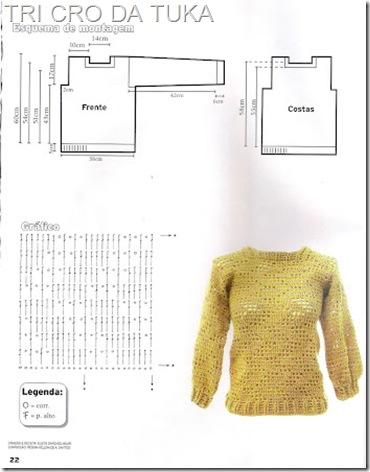 suéter a