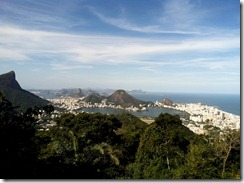 Rio view from Tijuca
