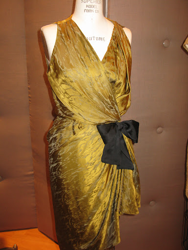 Wrap dress from Reem Acra.