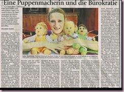 Presse-Puppenmacherin und die Bürokratie Kopie