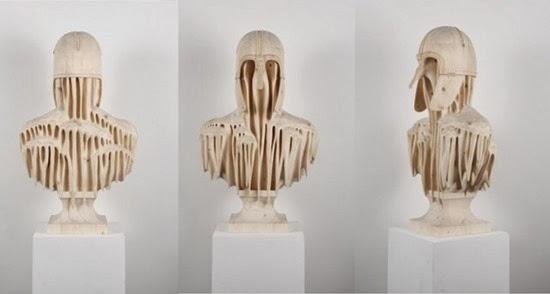 Esculturas surreiais  de Morgan 07