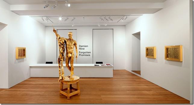 Damien Hirst - Gagosian-Gallery - Forgotten promises