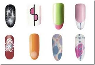 foto de uñas pintadas con diseños buenos