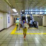 subway station in Tokyo in Tokyo, Tokyo, Japan
