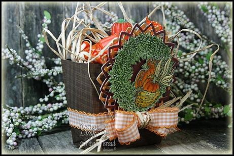 Pumpkin Wreath, Our Daily Bread designs