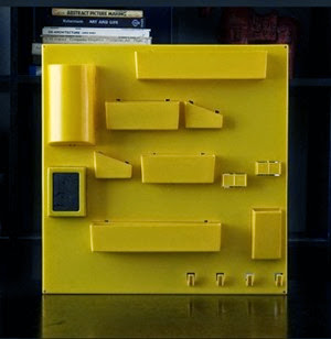 yellow wall organizer like utensilo front