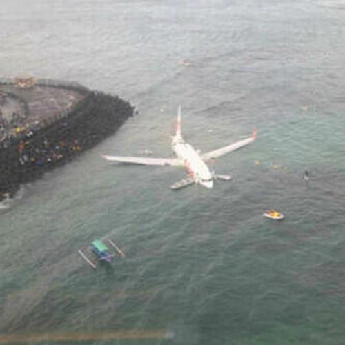 Lion Air jatuh di Bali (1)