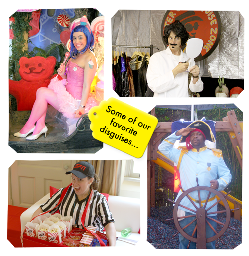 Costumes collage