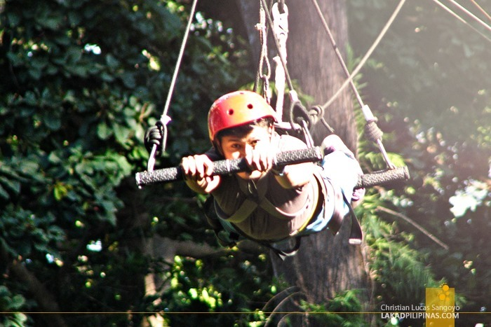 Superman Ride at Subic's Tree Top Adventure