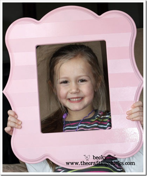 Striped Picture frame