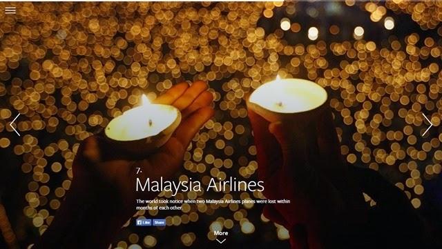 7. La tragedia de Malaysia Airlines