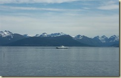 Ferry Boat on Fjord (Small)