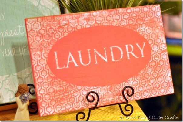 Laundry-sign