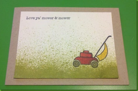 Splash Mower