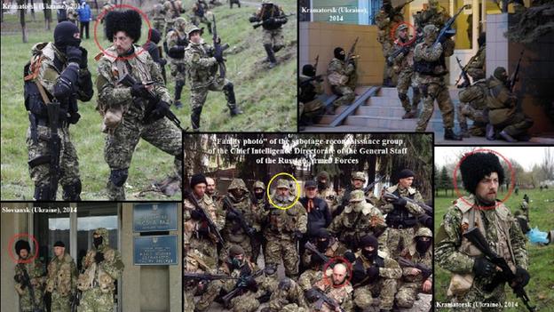 Ukraine fake picture scam