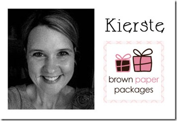 Kierste Brown Paper Packages