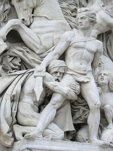 Arc de Triumph (detail), Paris