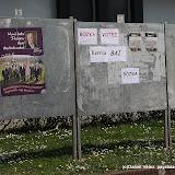 Tois listes à Itxassou, trois panneaux, trois budgets de campagne différents...
