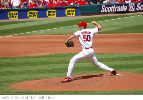 'Adam Wainwright's Fast Ball' photo (c) 2008, bk1bennett - license: http://creativecommons.org/licenses/by-nd/2.0/