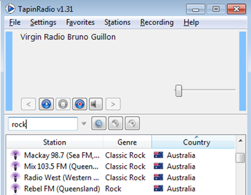 TapinRadio Free World Radio Software