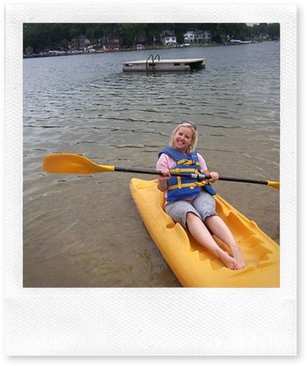 Me in a kayak