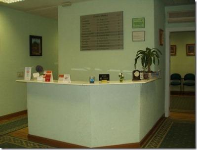 decoración de oficinas medicas