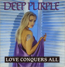 Deep Purple - Love Conquers All - Poster Sleeve - 12- RECORD-MAXI SINGLE-54708