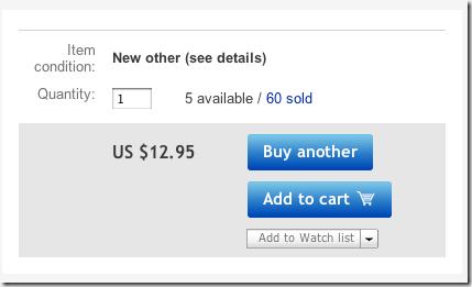 """Interfaz de compra """"usable"""""""