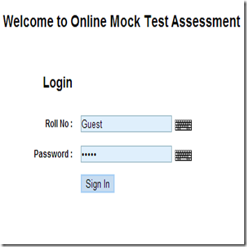 IBPS Clerk ONLINE mock test 1