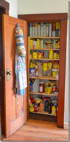 open pantry door