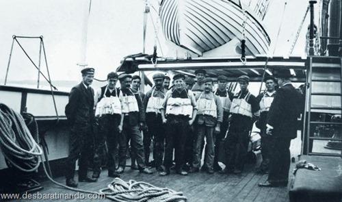 Os membros da tripulação do Titanic