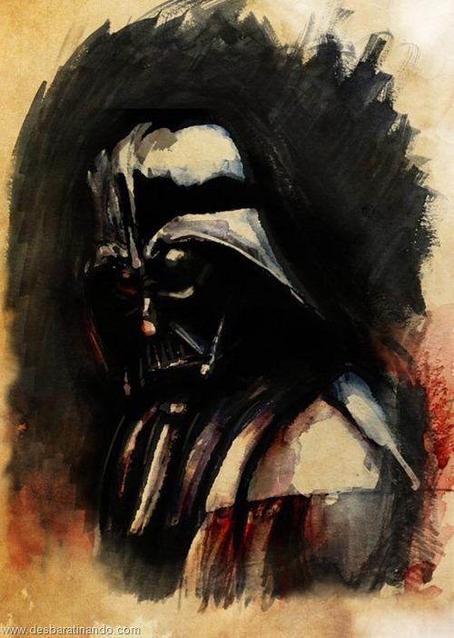 pinturas star wars aquarela desbaratinando  (10)