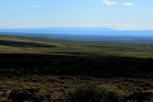 The Steens from Hart Mountain Blue Sky Road Lookout Point