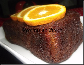 Bolo de laranja (Sticky orange cake) da Nigella- lateral