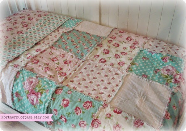 {NorthernCottage} Custom Crib Quilts