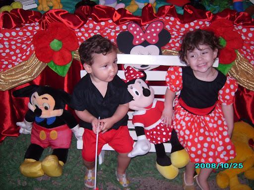 Aniversario De 03 Anos Yasmin Festa Da Minnie Aniversario De Tres Anos