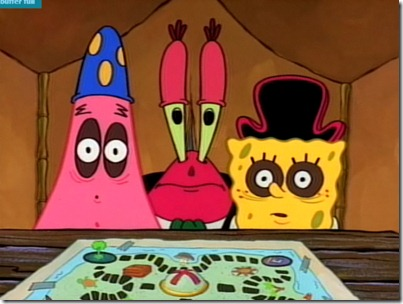 Spongebob and Patrick - Dark Circles