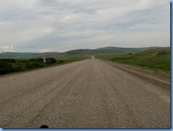 1158 Alberta - gravel roads between Head-Smashed-In Buffalo Jump Interpretive Centre and Pincher Creek
