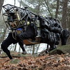Legged Squad Support System LS31 robot perro caballo