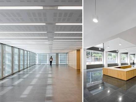 Nuevo edificio contempor neo de oficinas en barcelona for Oficinas seguridad social