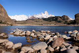 &ndash; Vista de los cerros Torre y Fitz Roy<br />